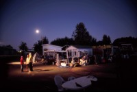 Moonrise over Dignity Village